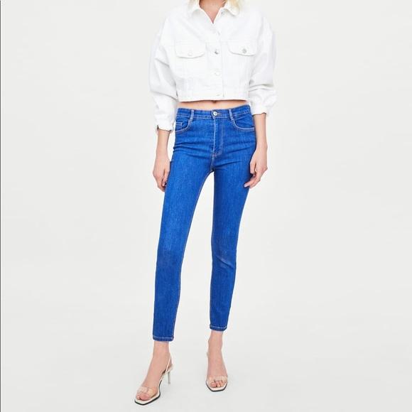 """Zara Denim - Zara """"vintage"""" high rise skinny jeggings"""